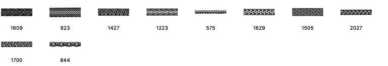 10种蕾丝花纹边条装饰PS笔刷