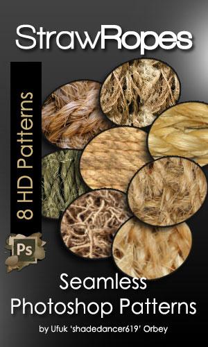 8种高清植物纤维化纹理材质PS填充素材