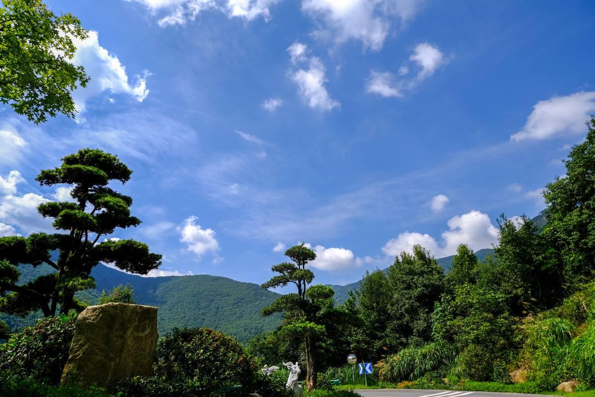 金华黄大仙风景区高清照片背景素材