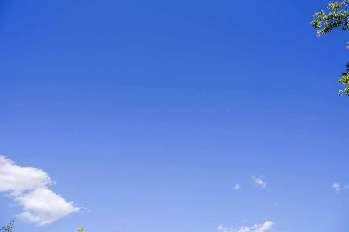 纯净蓝天4K照片