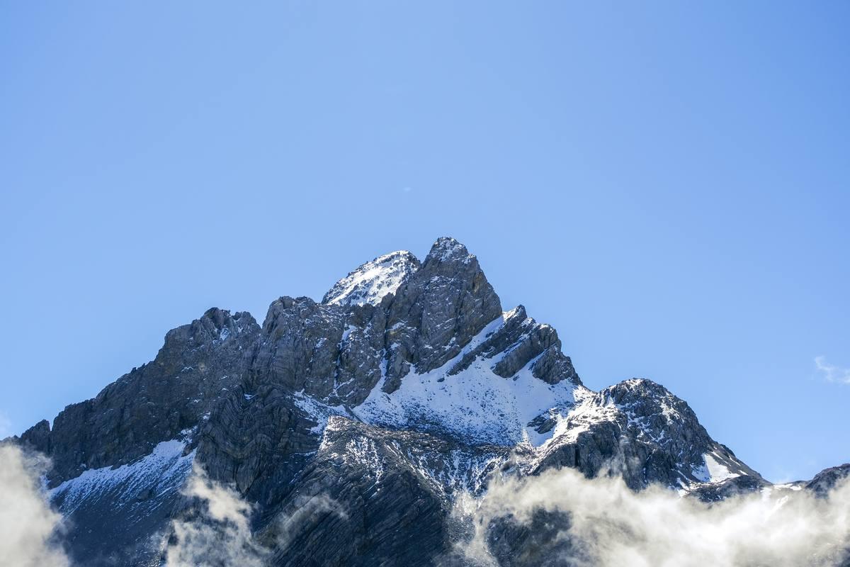 雄伟的玉龙雪山背景 - 超4K解析度
