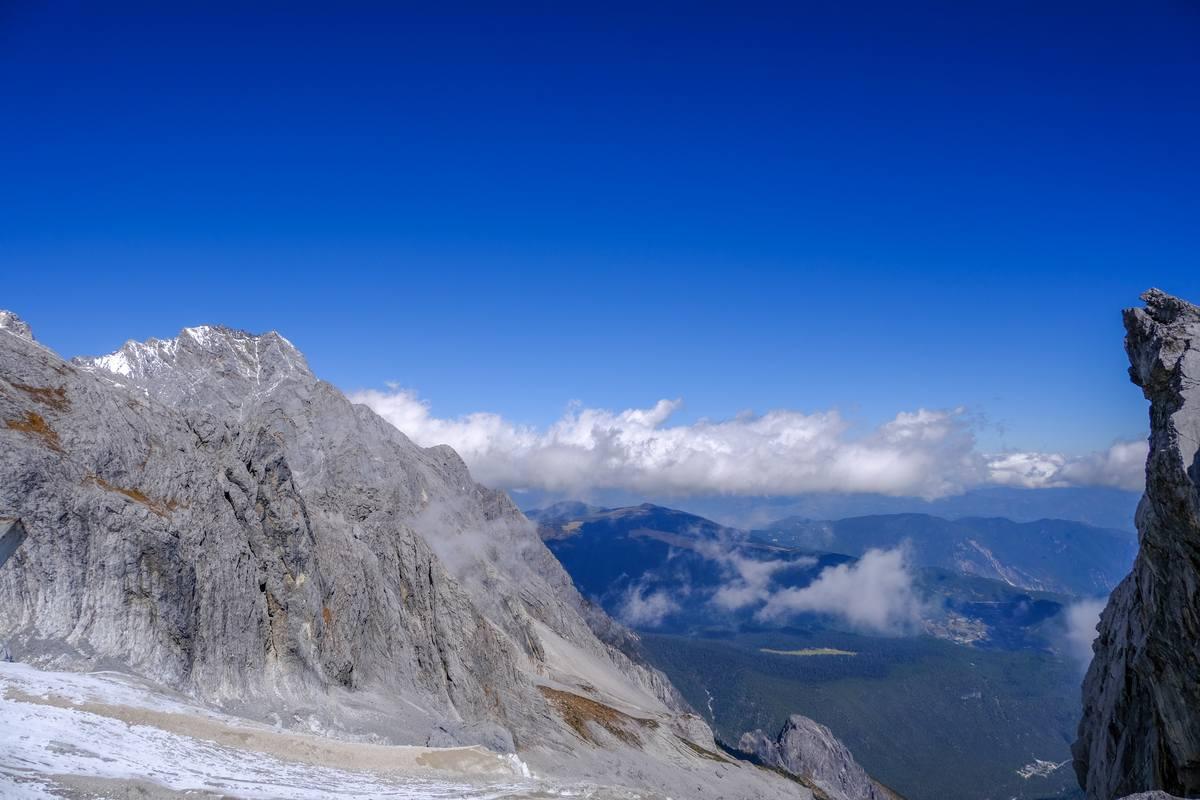 高山背景、雪山风景图片素材免费下载