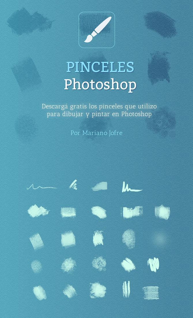 高级照相馆艺术插画笔刷PS素材免费下载