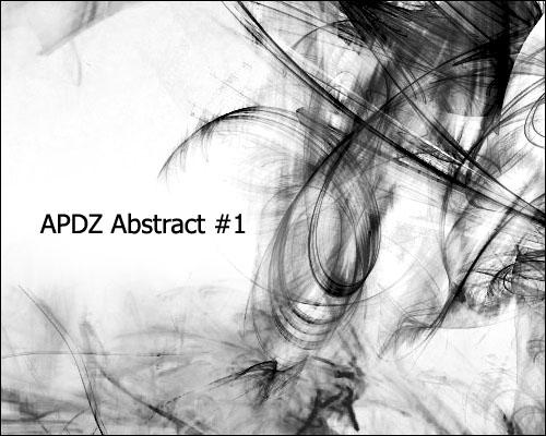 抽象光影线条特效变化PS笔刷