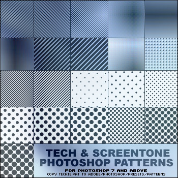 斑点纹理、扫描线条背景Photoshop背景填充素材