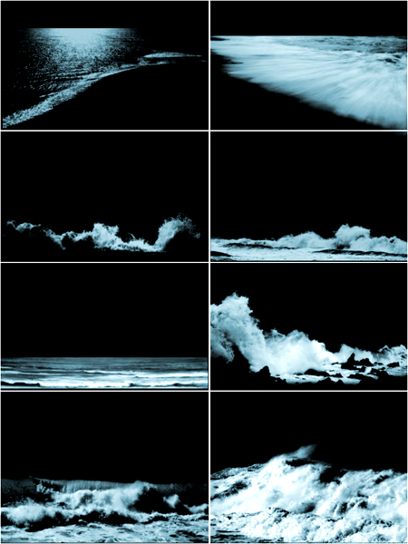 海浪、海边效果PS笔刷