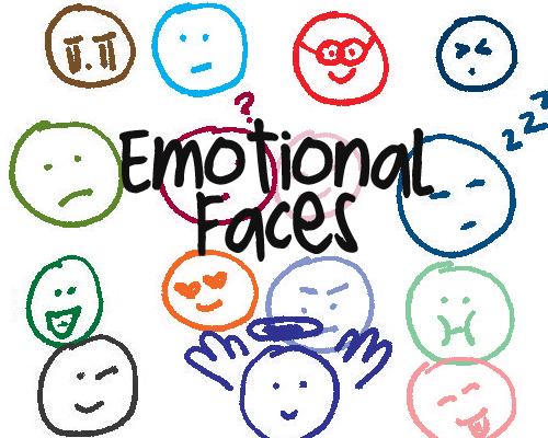 涂鸦头像表情PS笔刷素材