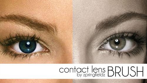 眼睛、美瞳、瞳孔效果PS笔刷