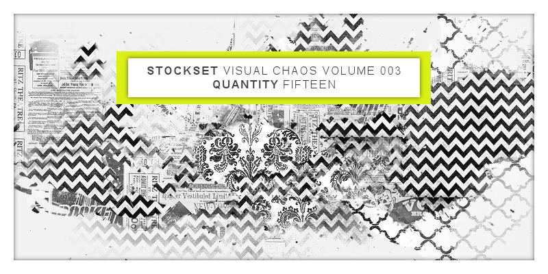 混沌视觉效果背景纹理PS笔刷素材(PNG格式文件)